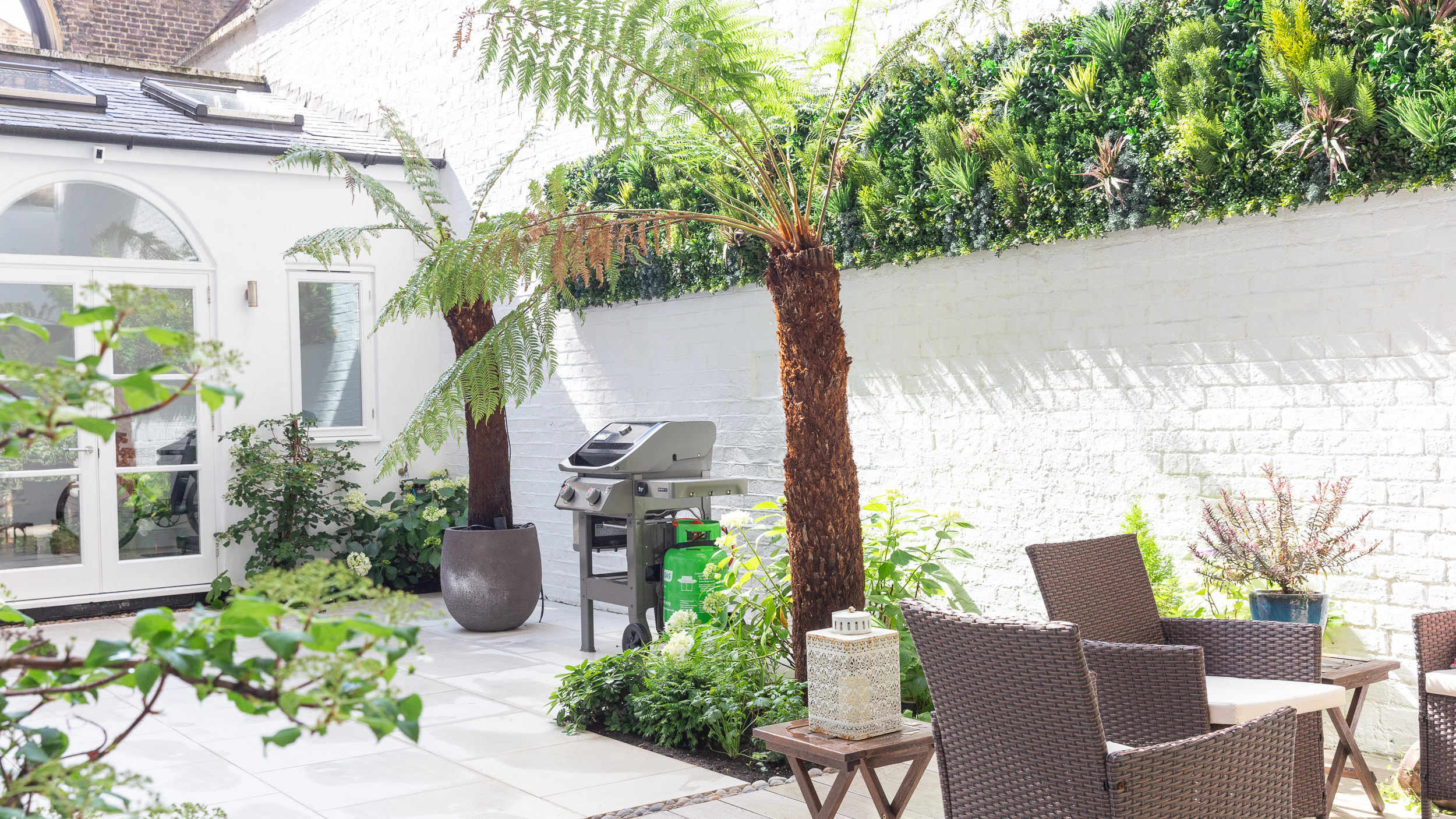 South Kensington Courtyard Garden